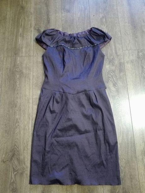 Śliczna, elegancka,weselna, sylwestrowa sukienka rozm. 42
