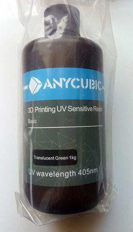 Anycubic Resin Фотополимерная смола UV Resin для 3D Принтера 1л