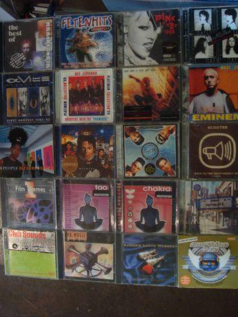 Płyty CD  z różną muzyką zestaw 20 sztuk