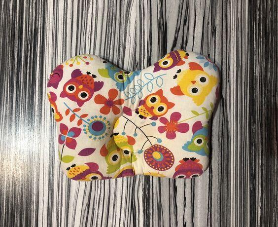Ортопедическая подушка для младенцев Совушки
