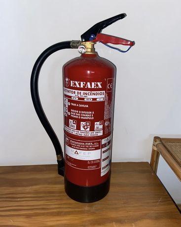 Extintor de incendios 6KG Pó ABC
