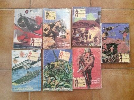 7 BD de guerra vintage