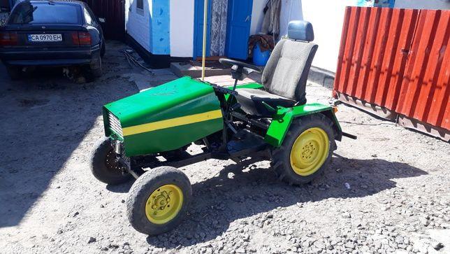 Продам саморобний трактор з двигуном Forte 6.5