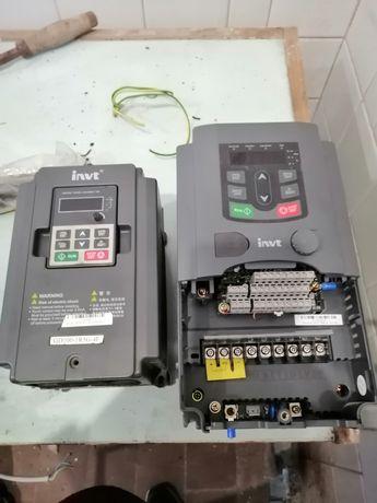 Частотные преобразователь Invt 100 380 в. На 1,5 кВт.