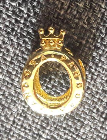 Charms lśniąca korona gold