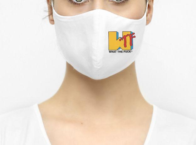 Maska maseczka ochronna WTF wielokrazowa