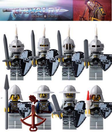 Bonecos minifiguras Cavaleiros nº8 (compativel com Lego)