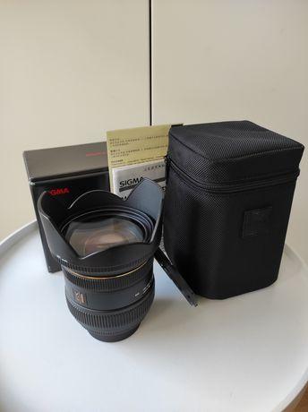 Sigma 24-70 F2.8 IF EX DG HSM NIKON z filtrem HOYA
