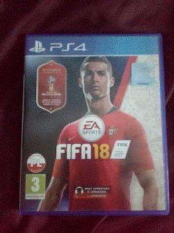Gra FIFA 18 - edycja MŚ 2018 na PS4