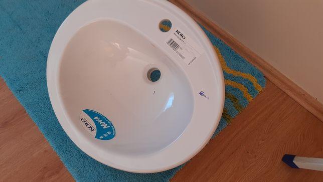 Umywalka nablatowa KOŁO 56cm x 47cm