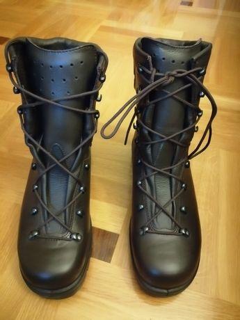 Buty męskie wojskowe skórzane 43