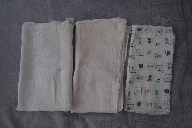 Pieluszki tetrowe Motherhood 3 szt 70/80 cm
