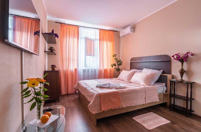 посуточно уютные апартаменты на позняках пчёлки 3В Киев