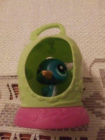 Figurka LPS ptaszek w klatce jak nowa rezerwacja do 15.08.21