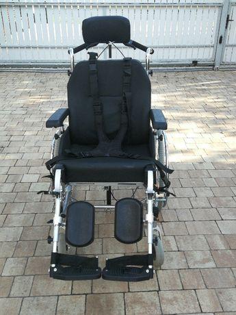wózek inwalidzki specjalny serena II + gratis pasy bezpieczeństwa