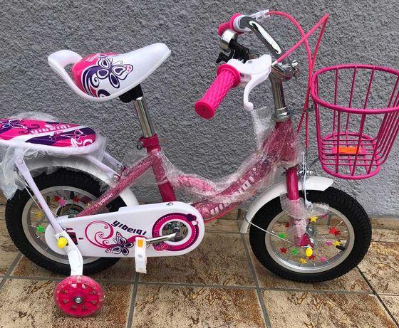 """Rower rowerek dla dziecka 12"""" akcesoria YIBEIQI HURT-DETAL"""