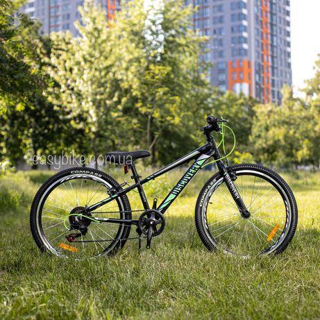 Горный детский велосипед 24 Discovery Qube 11 алюминий рама