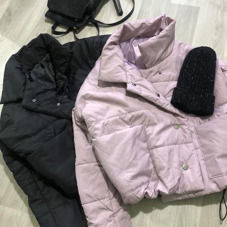 Кутка вкорочена, дутік, осіння куртка