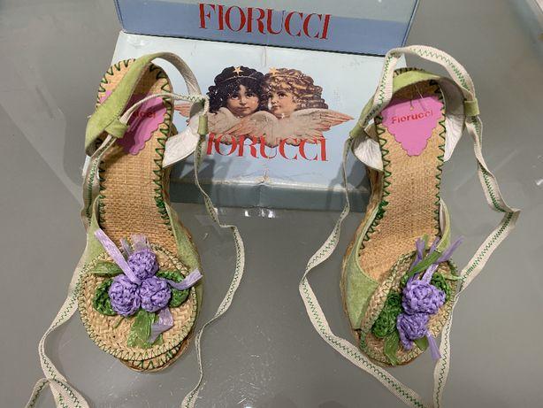 Sandálias Fiorucci n37 Modelo Exclusivo