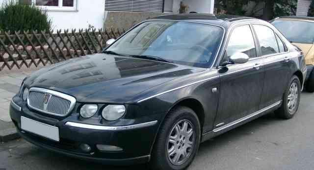 Rover 75 cdi не растаможен.