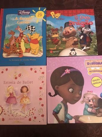 Diversos livros infantis