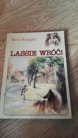 Książka -Lassie wróć
