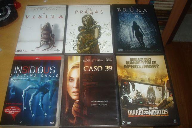 lote 25 filmes originais terror , hostel, blair witch,insidious etc