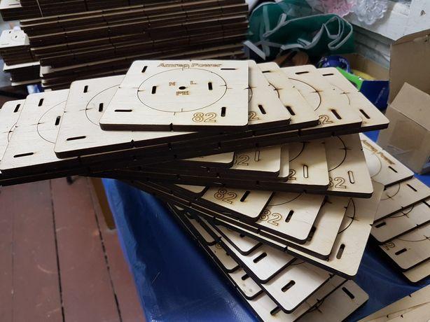 Комлект шаблонов для подрозетников 1-5, 82 диаметр.