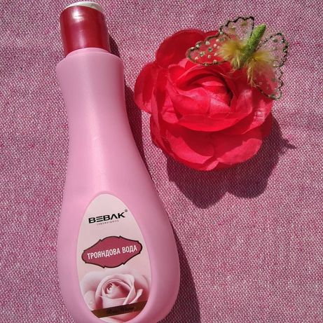 Трояндова рожева вода