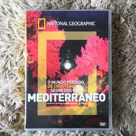 Filme DVD - National Geographic: O Mundo Perdido De Costeau