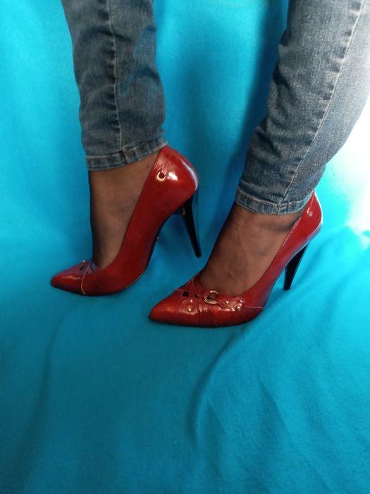 Новые лаковые туфли лодочки.Срочно!!! Приморск - изображение 1