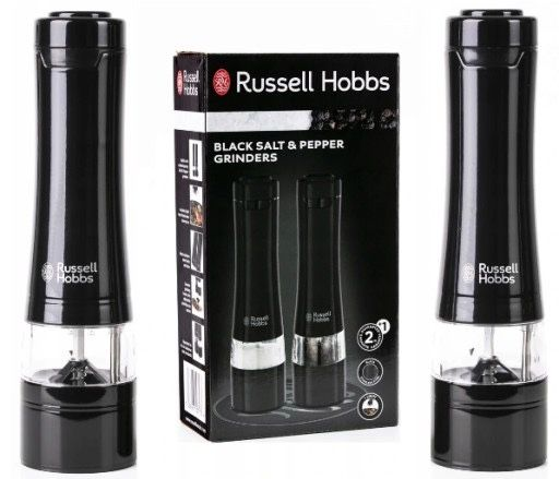 Elektryczne młynki do przypraw Russell Hobbs gwarancja