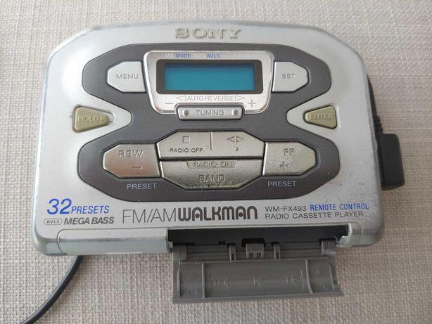 Walkman z radiem Sony WM-FX493 remote control