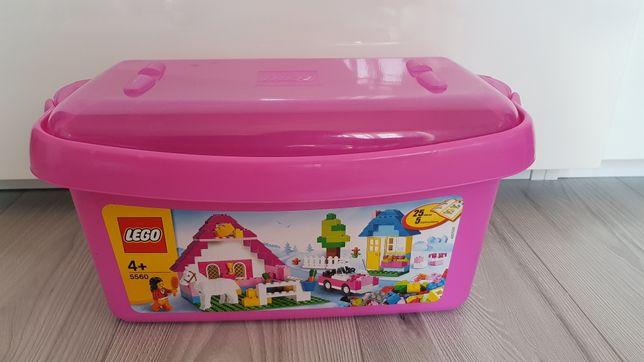 Duży zestaw lego 5560 pudełko