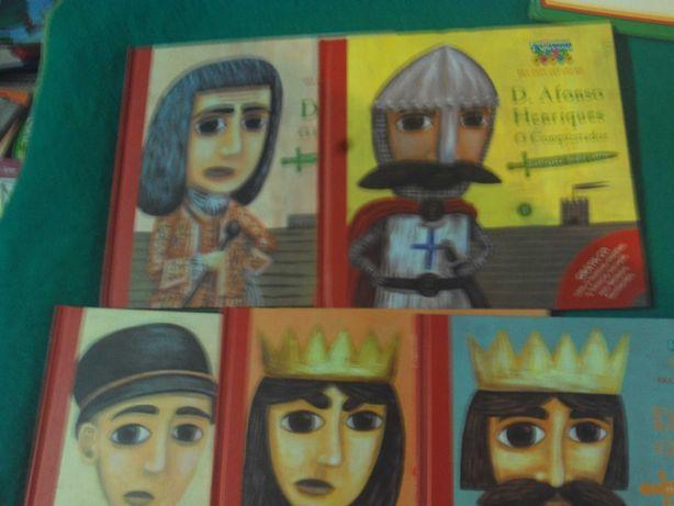 Os reis de Portugal Albuns com CD da Expresso Ed reservado