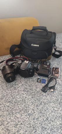 Lustrzanka Canon eos 1300d czarny + 18-55 mm