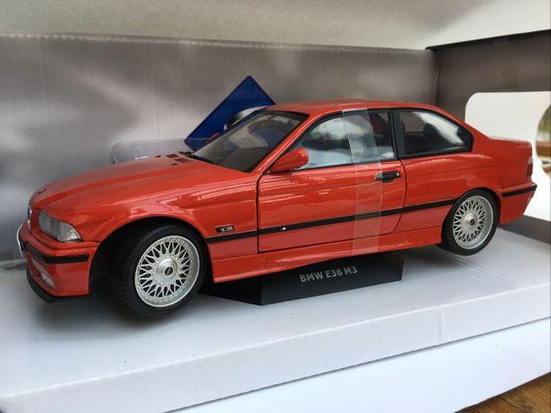 BMW M3 E36 Coupe Red 1:18 StaN IDEALNY BeZ WaD LimiteD JEDYNY TAKI !!