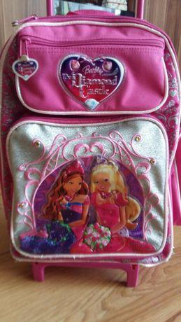 Plecak na kółkach Barbie