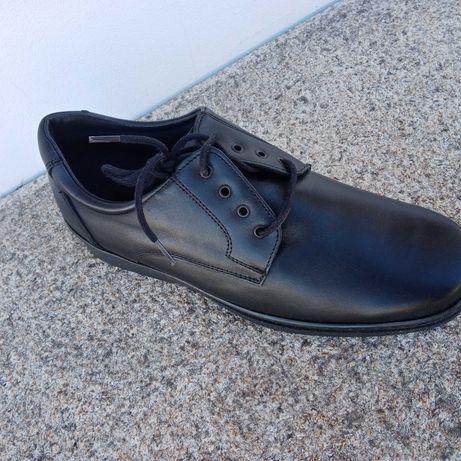 Sapato pele homem