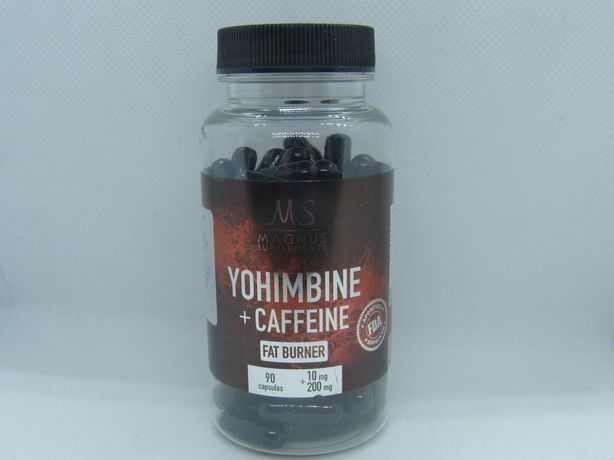Magnus johimbina Hcl + kofeina 90 kap 10mg +200mg kofeiny