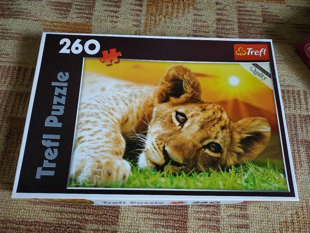Пазлы Trefl Puzzle 150, 260, Пазлы Castorland 4х