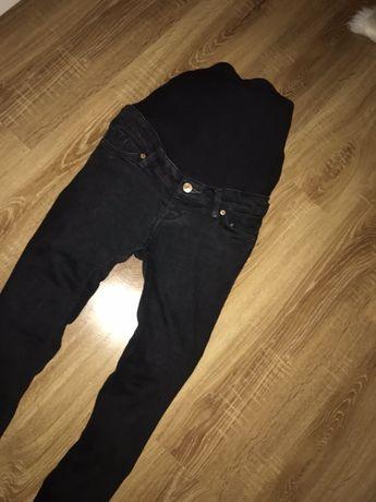 H&m spodnie ciazowe  rurki 40 / L czarne