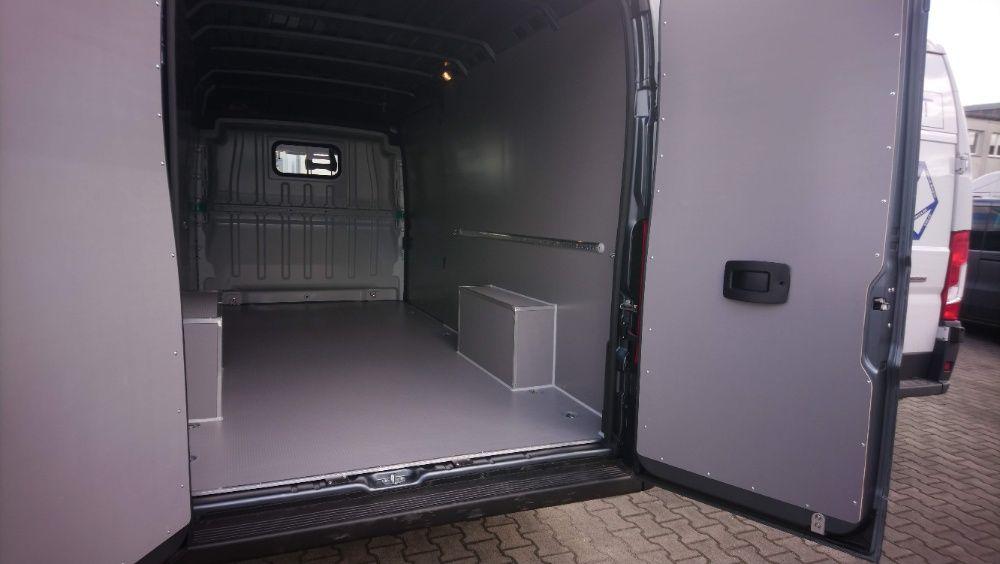 Zabudowa premium przestrzeni ładunkowej w samochodach Fiat Ducato L4H2 Pszczyna - image 1
