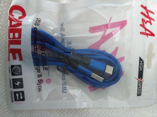 Кабель для зарядки телефонов, планшетов, USB - Type C длина 1,2м