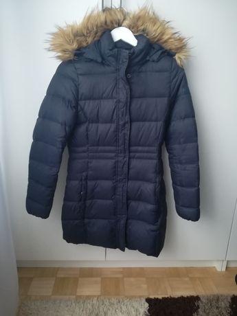 Kurtka płaszcz zimowy puch wrangler XS S 34 36