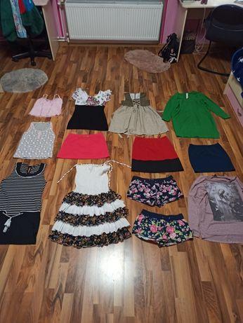 Детские сарафаны, юбки, блузки, платья, футболки, шорты.На 10-16 лет