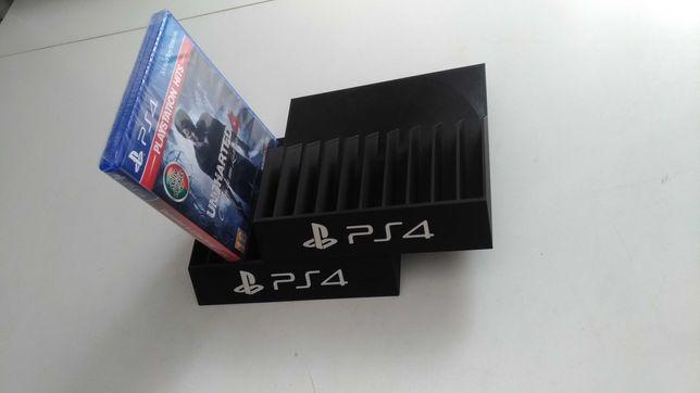 2 x suportes jogos PS4 Playstation 4