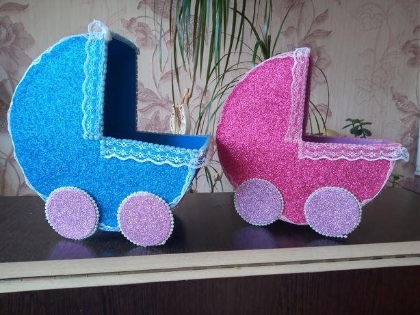 Весільні коляски для збору коштів на дітей Свадебные коляски