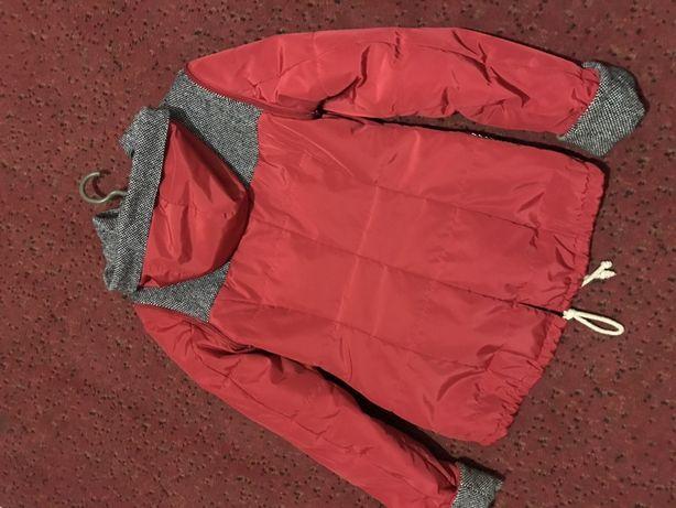 Женская курточка-жилетка