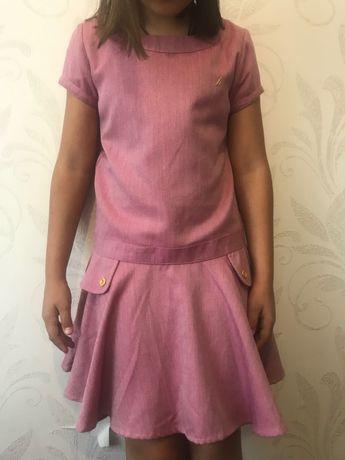 Рожеве дитяче плаття